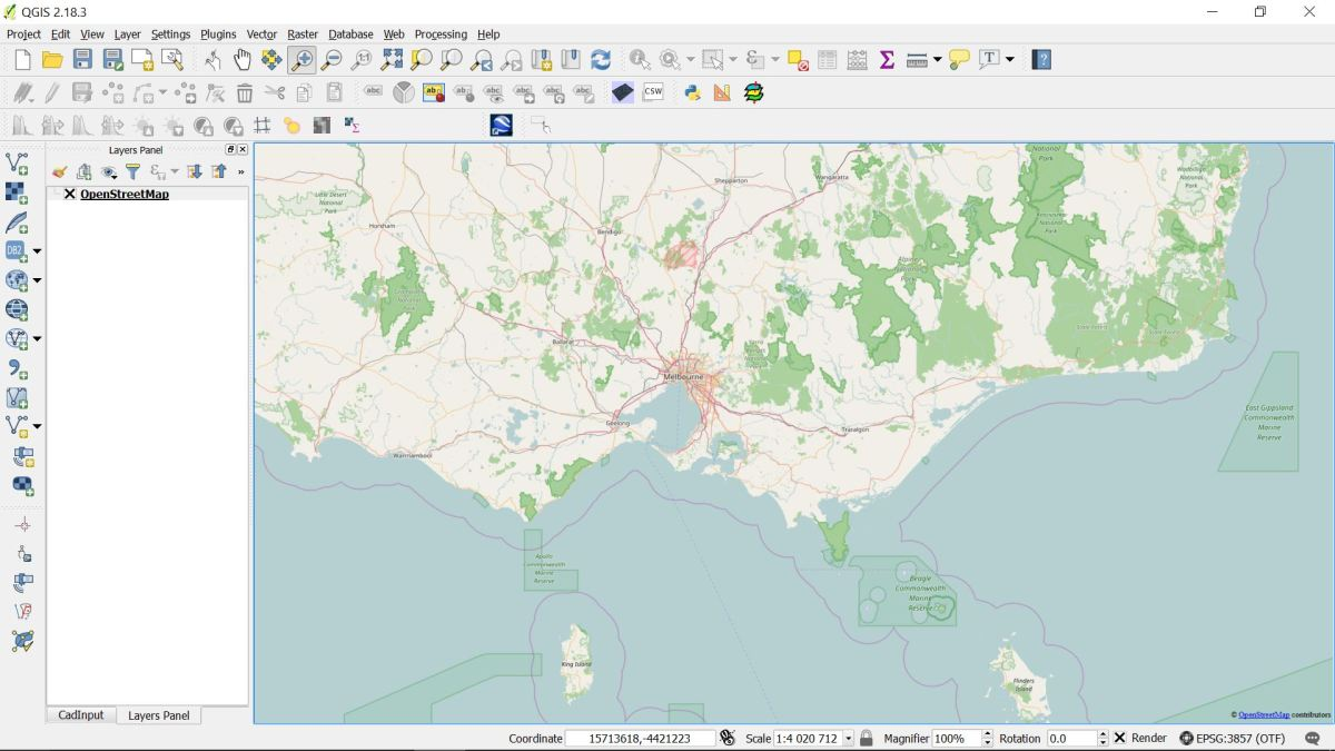 How to georeference scanned image in QGIS and vectorize items from OpenStreetMap-part 1.